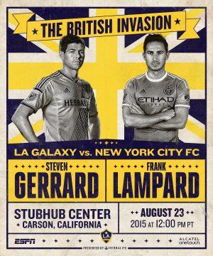 Thumbnail for La galaxy match poster