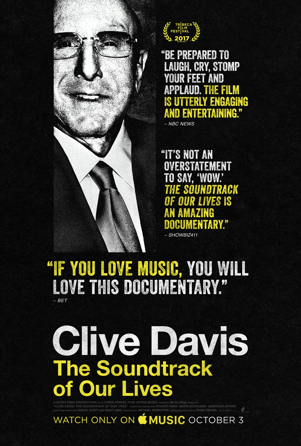 CLIVE DAVIS: THE SOUNDTRACK OF OUR LIVES thumbnail